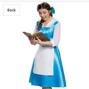 Belle Women's blue villagers costume